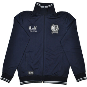 Brick Lane Bikes London BLB Tripped Zip Trainingsjack Heren, navy